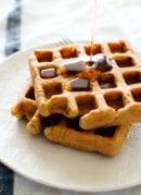 gluten-free oat waffles recipe