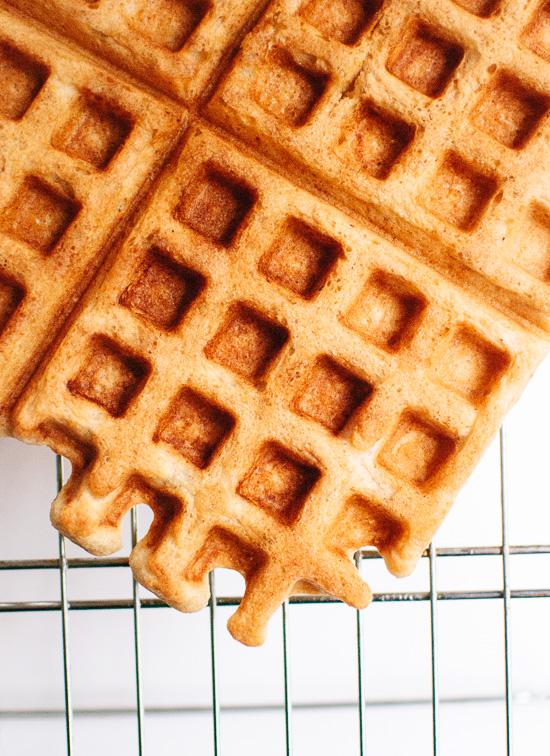 Gluten-free oat waffles recipe - cookieandkate.com