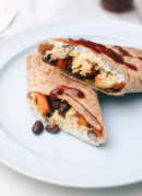 Healthy Freezer Breakfast Burritos - cookieandkate.com