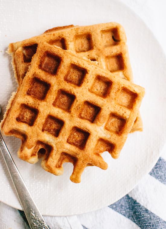 Easy Gluten-Free Oat Waffles - cookieandkate.com