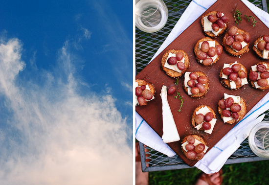 outdoor crostini