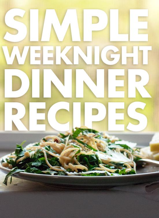 14 Simple Vegetarian Weeknight Dinners Cookie And Kate