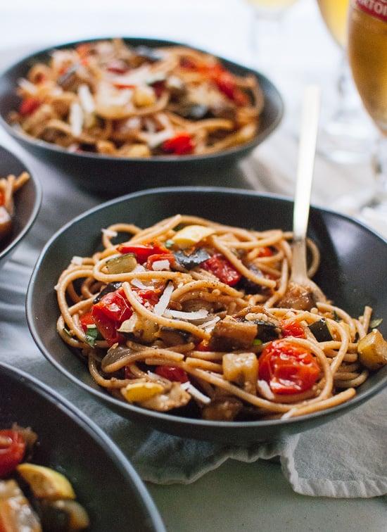 Summer Ratatouille With Pasta Recipe — Dishmaps