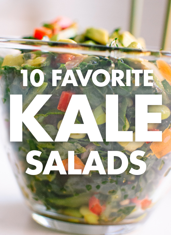 10 totally delicious kale salad recipes, plus tips on how to make the best kale salad ever. cookieandkate.com
