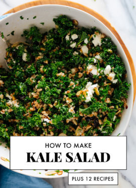 how to make kale salad plus tips