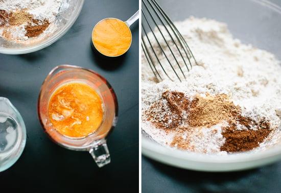 healthy pumpkin waffles ingredients