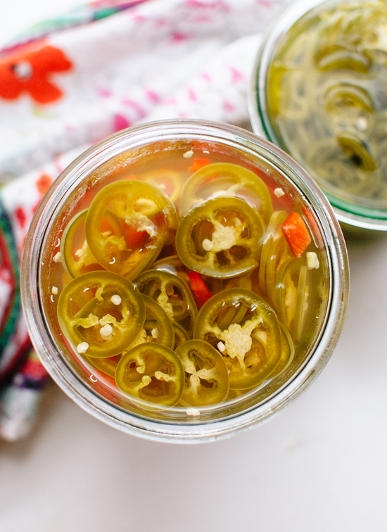 Quick-pickled jalapeños recipe - cookieandkate.com
