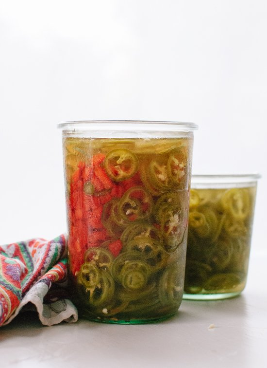 Quick-pickled peppers recipe - cookieandkate.com