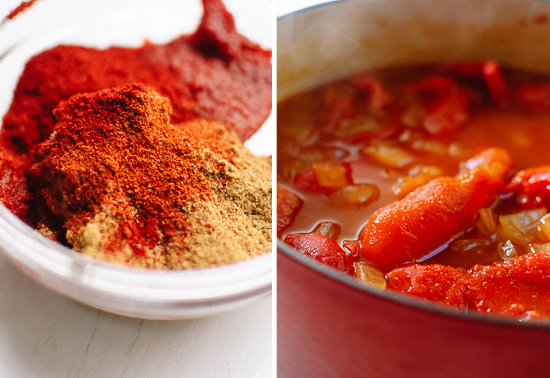 red pepper soup spices