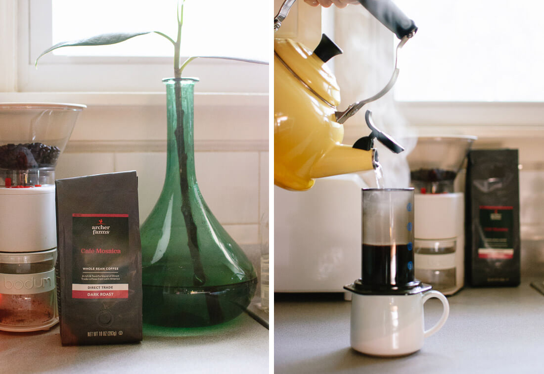 Target direct trade coffee