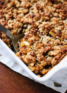 Simple Gluten-Free Apple Crisp