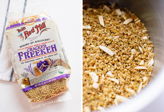 Bob's Red Mill cracked freekeh