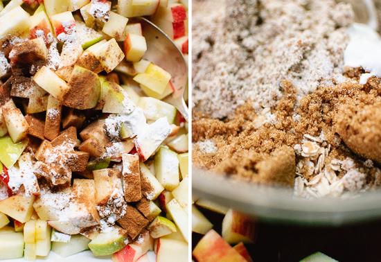 how to make gluten-free apple crisp