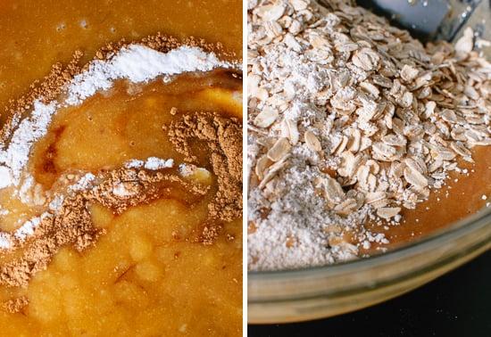 oat-based cookies