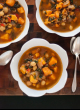 Sweet potato, kale and farro soup - cookieandkate.com