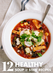 12 Healthy Vegetarian Soup Recipes