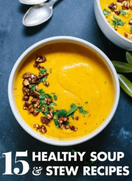 15 Healthy Vegetarian Soup Recipes