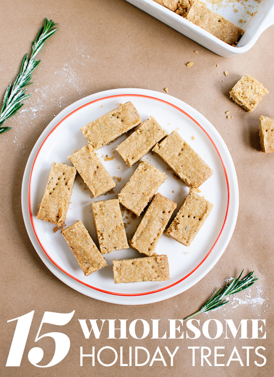Healthier holiday treats that everyone will love! See them at cookieandkate.com