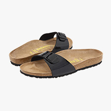 Birkenstock Madrid patent sandals