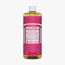 dr. bronner's rose soap