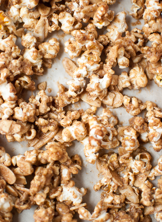how to make healthy caramel popcorn