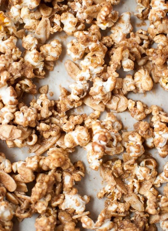 Healthy caramel popcorn recipe - cookieandkate.com