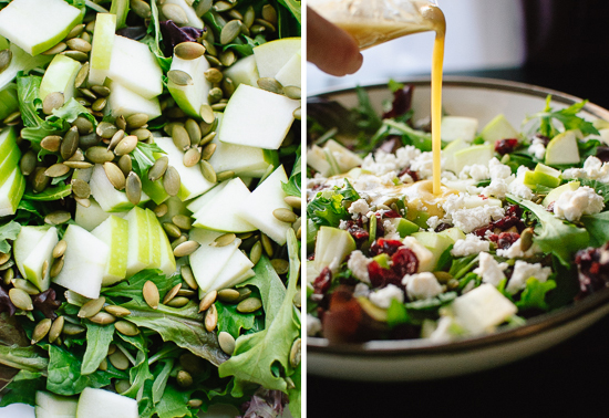 how to make a simple green salad