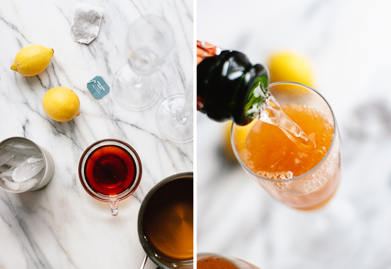 how to make Earl Grey French 75