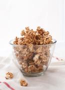 Maple almond caramel popcorn - cookieandkate.com