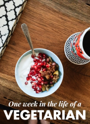 Week in the Life of a Vegetarian (Thanksgiving Edition)
