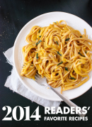 Top 10 readers' favorite vegetarian recipes from 2014! cookieandkate.com