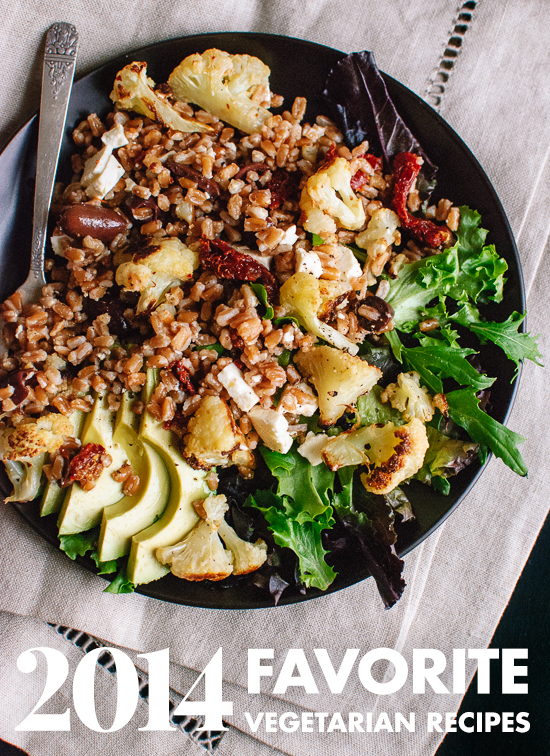 Top 10 favorite vegetarian recipes from 2014 - cookieandkate.com