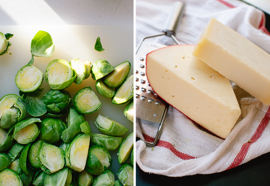 brussels sprouts and cheese