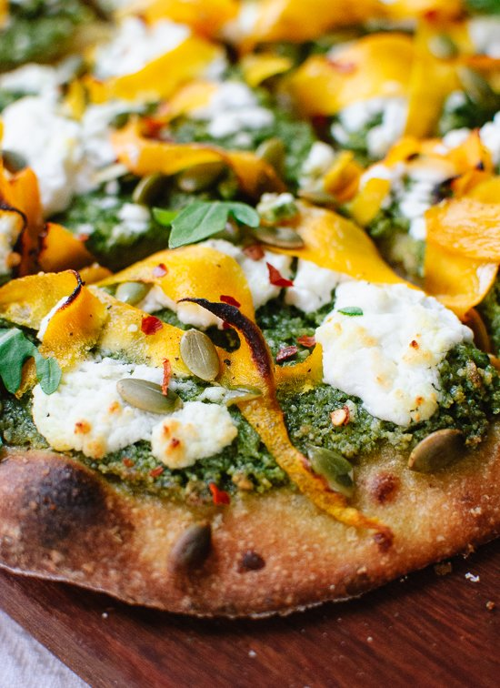 butternut ribbon pizza