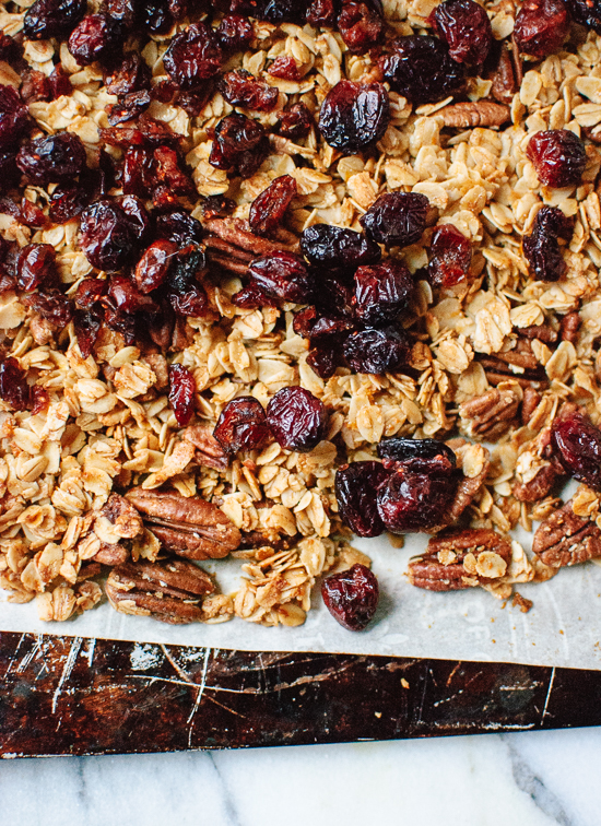 Cranberry orange granola recipe - cookieandkate.com