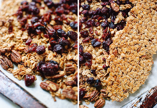 How to make extra clumpy granola