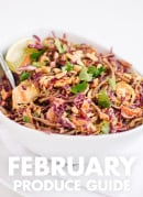 Learn what to do with February fruits and vegetables! Find recipes, preparation tips and more. cookieandkate.com