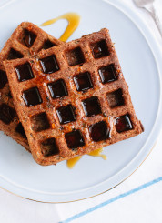Simple gluten-free buckwheat waffles recipe - cookieandkate.com