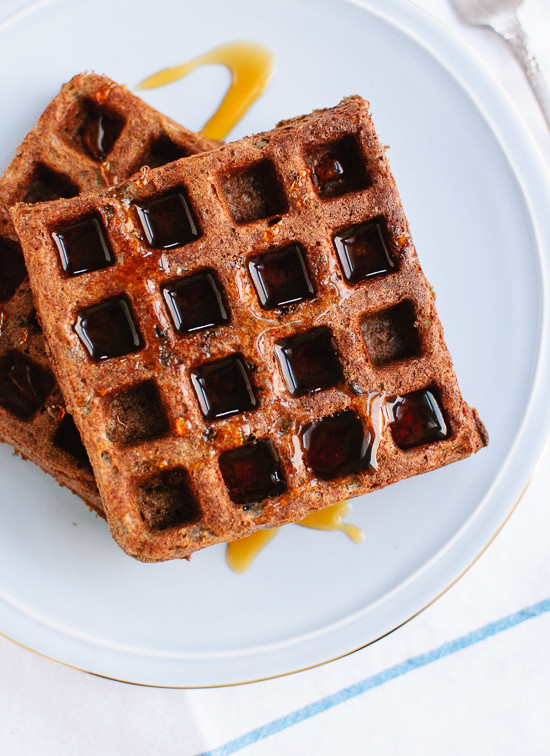Simple gluten-free buckwheat waffles recipe - cookieandkate.com