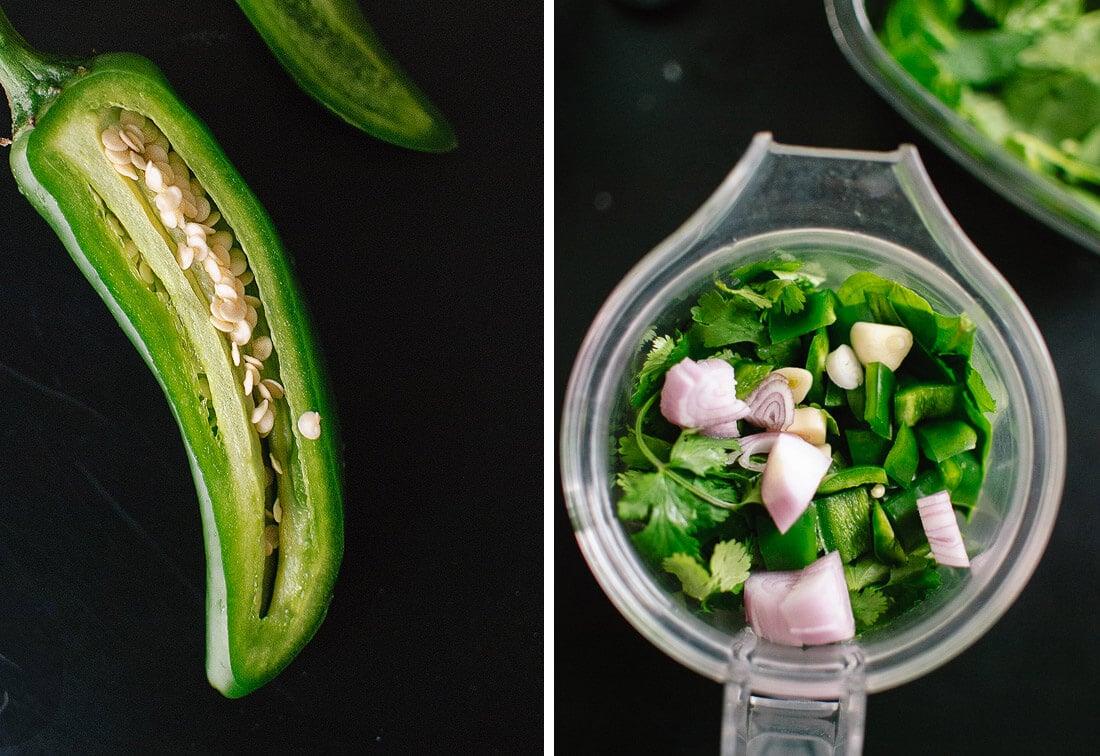 green rice ingredients