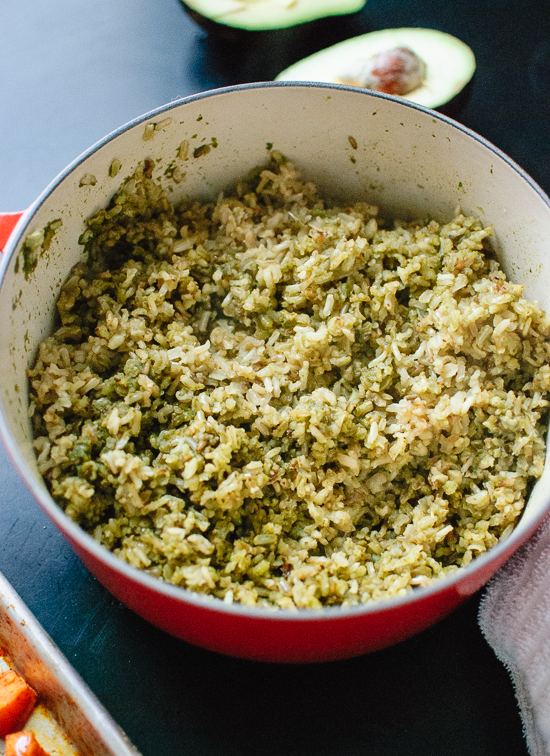 healthy green rice