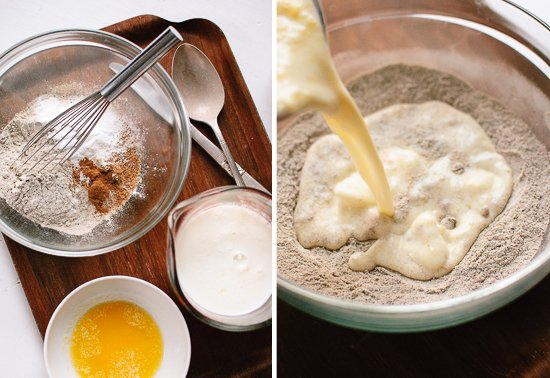 how to make buckwheat waffles