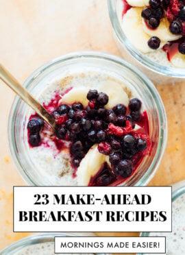 23 make-ahead breakfast recipes