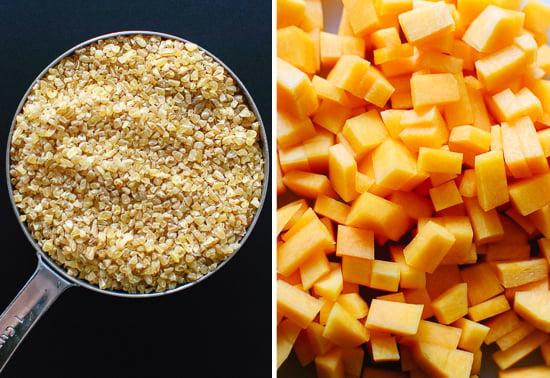 bulgur and butternut