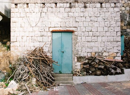 Druze village door