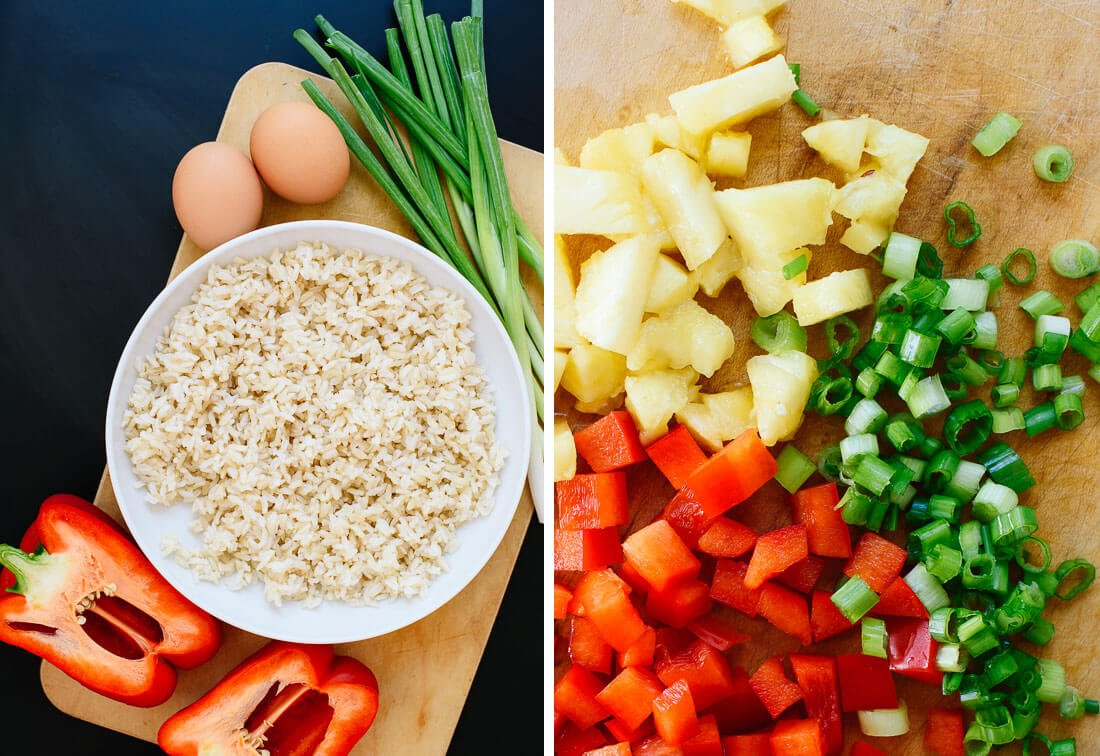 pineapple fried rice ingredients