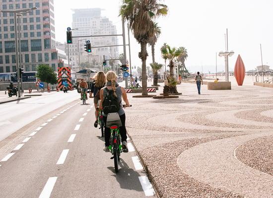Tel Aviv bike path