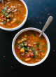 Spiced Vegan Lentil Soup