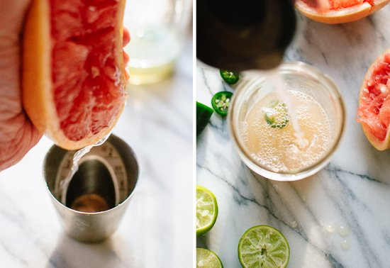 how to make grapefruit margaritas