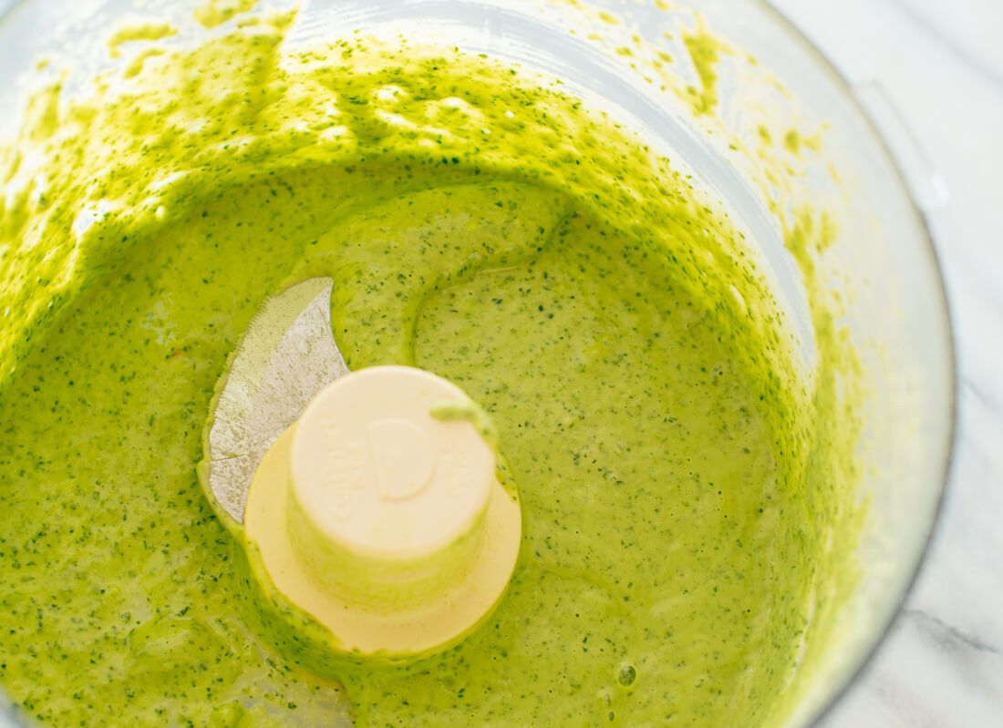 how to make green goddess hummus